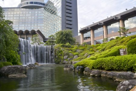 Japan, Tokyo, Hotel New Otani