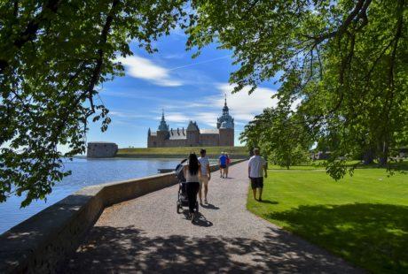 Kalmar slott, en plats för fina sommardagar