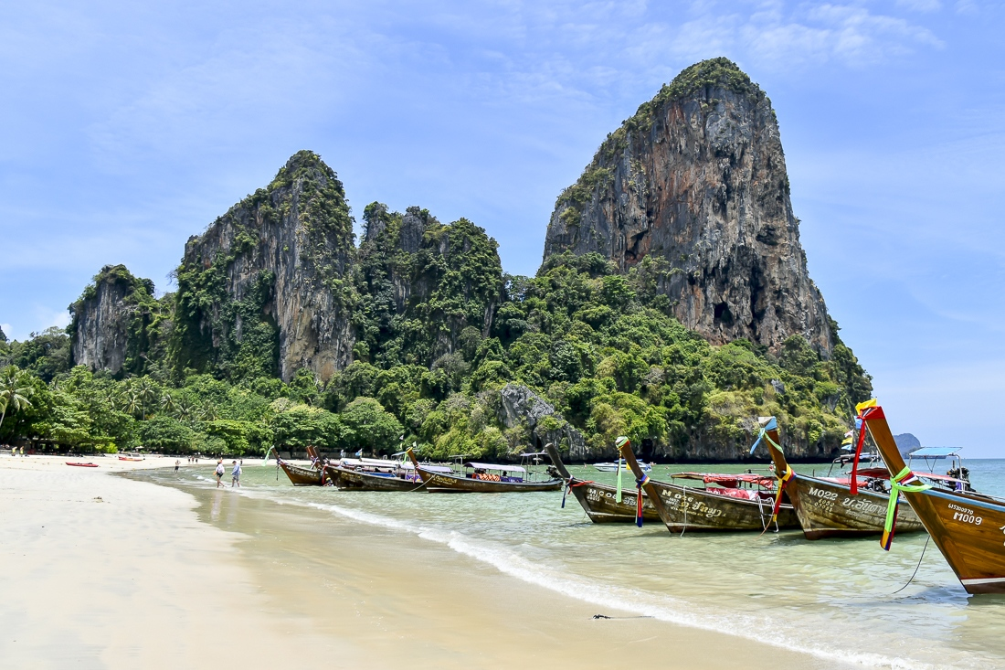 Thailand, Krabi, Railey Beach