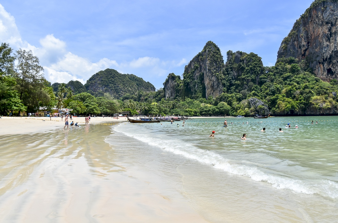 Thailand, Krabi, Railey Beach