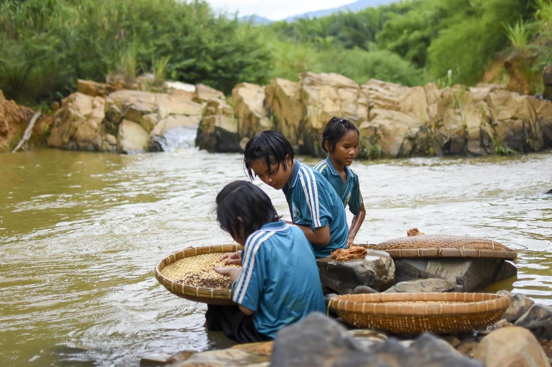 Thailand, Trat, Chongfolket, Chong Eco Museum