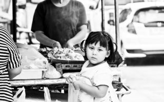 Thailand i svart och vitt