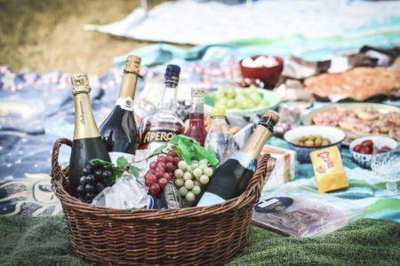Kristianstad, picknick & bubbel