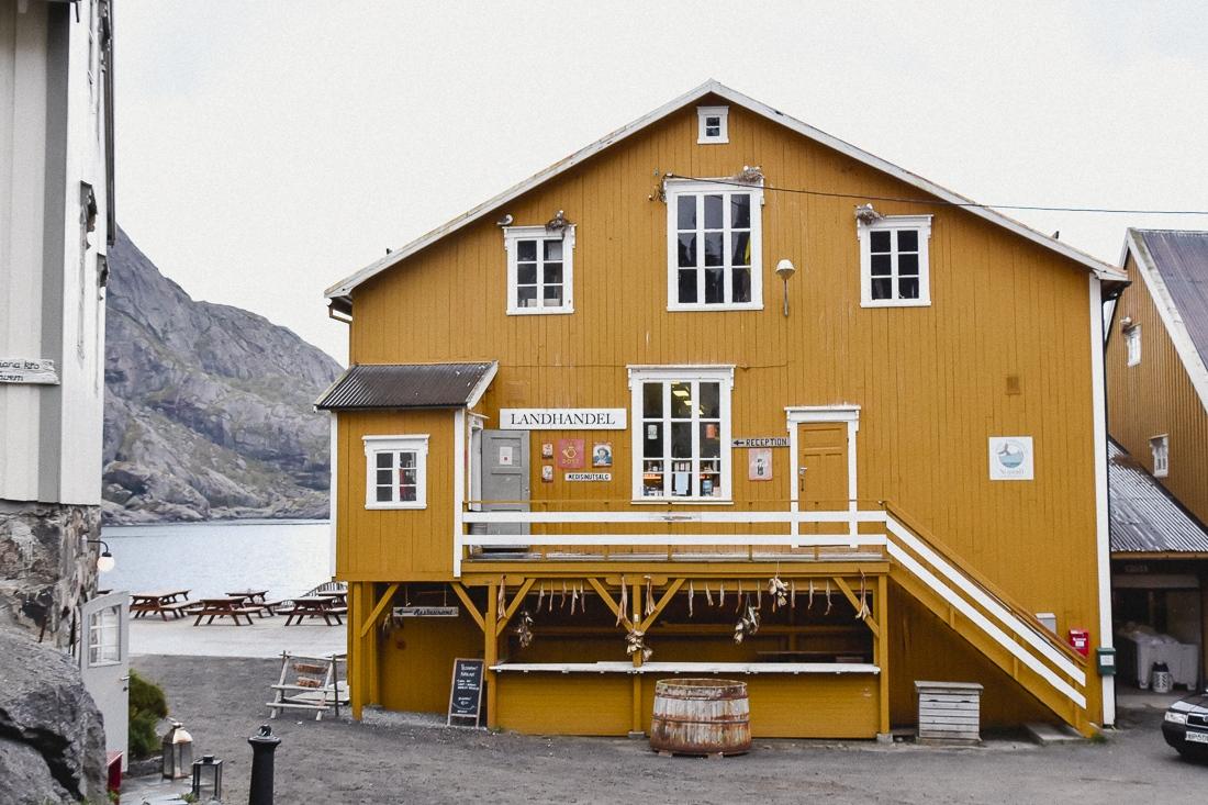 Norge, Lofoten, Nusfjord