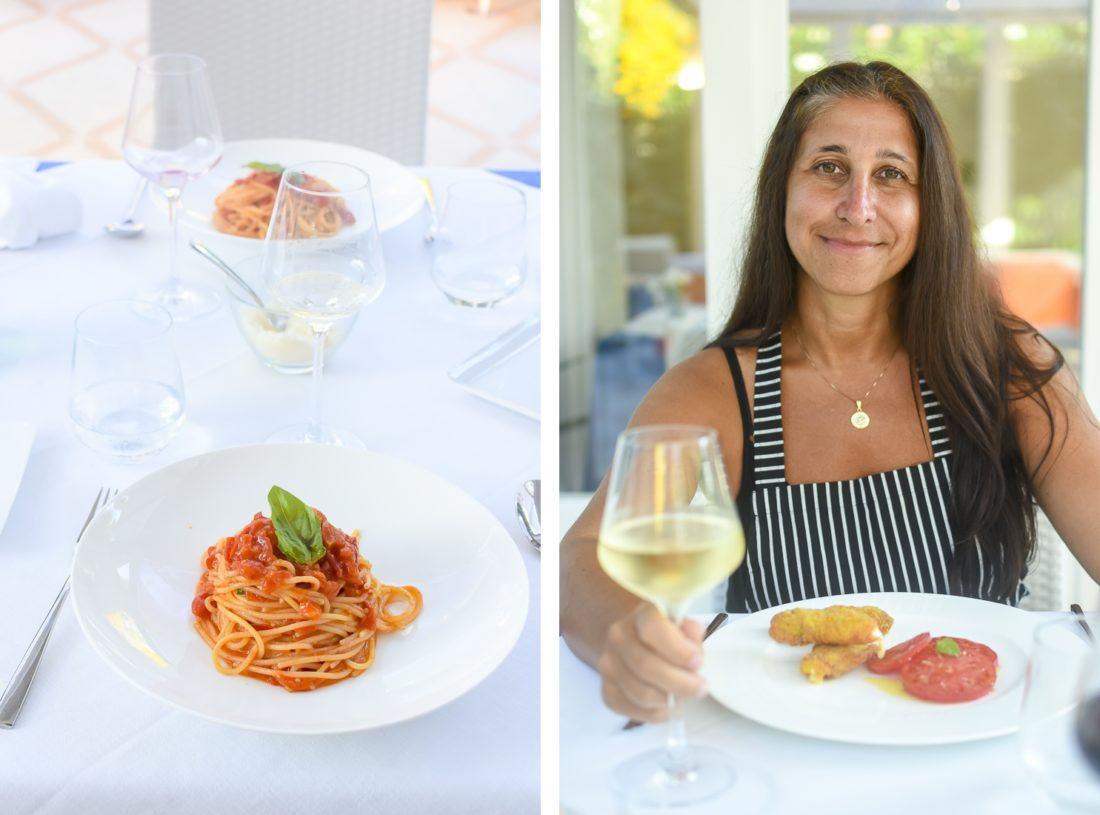Italien, Sorrento, Matlagningskurs