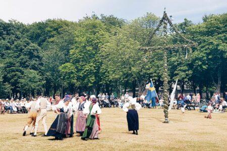 Midsummer Eve in Sweden