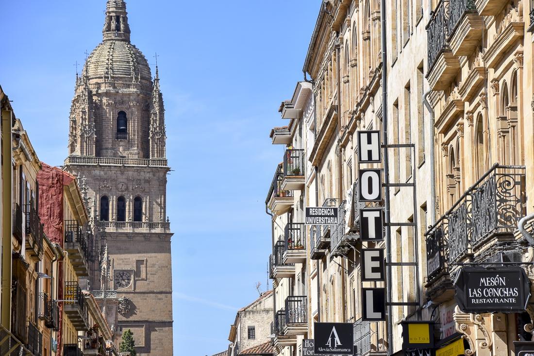 Spanien, Kastilien och Leon, Salamanca