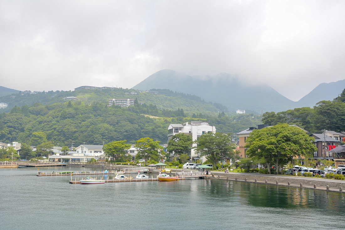 Japan, Hakone, Lake Ashi