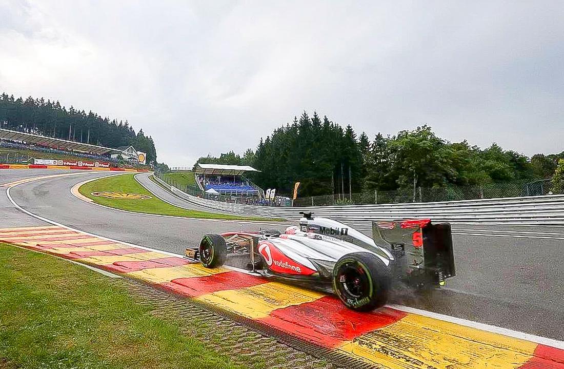 2011 Belgien, Spa, Formel 1