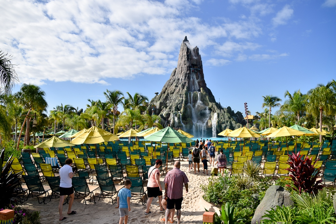 Usa, Florida, Orlando, Volcano Bay