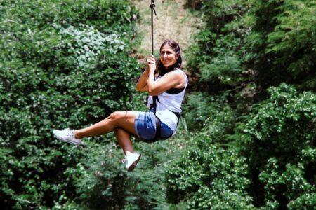 Zipline, världens längsta zipline