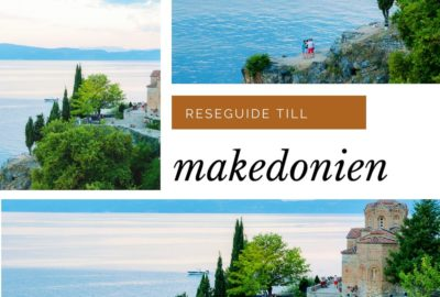 Makedonien, Reseguide