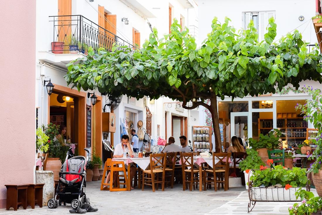 Grekland, Skiathos, Instax minikamera