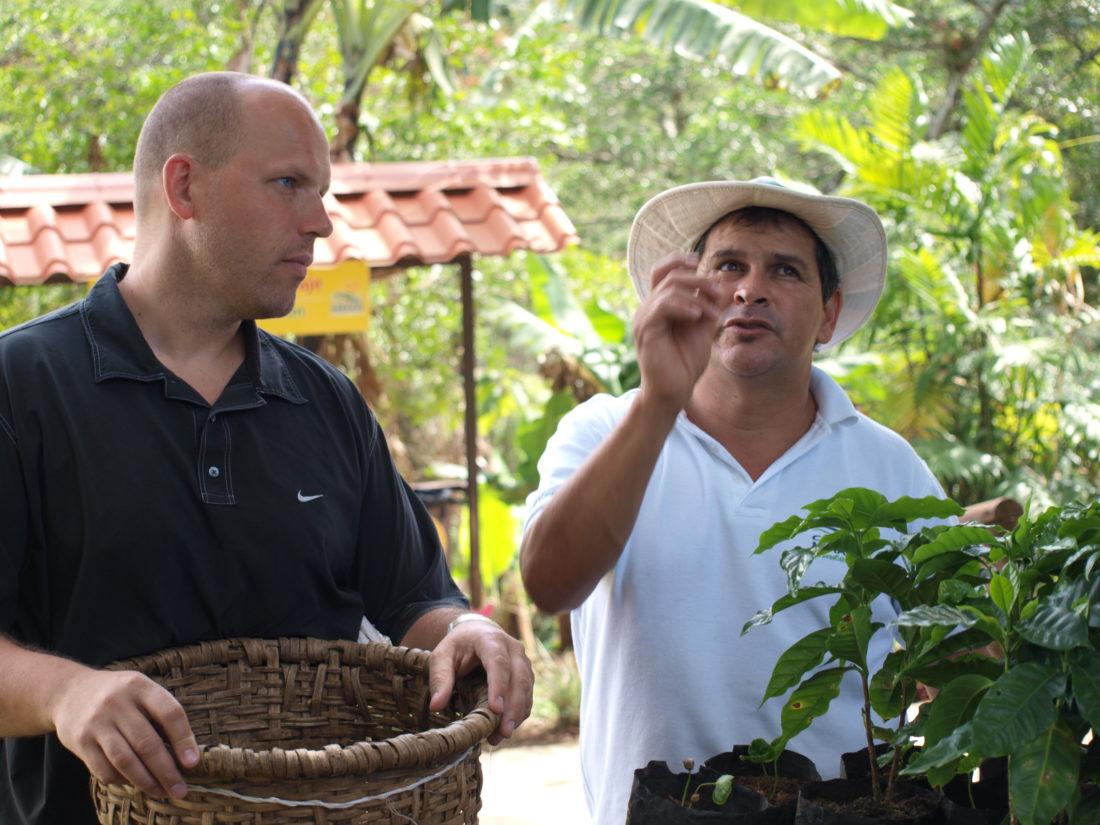 Costa Rica, San Jose, Kaffeplantage