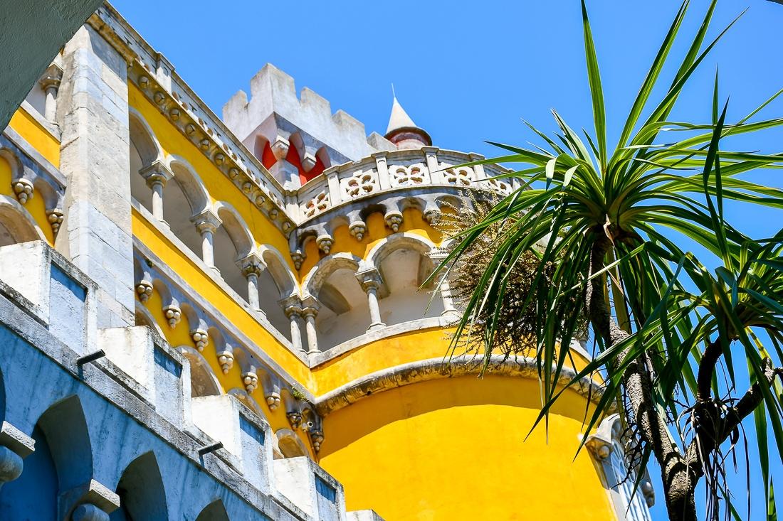 Portugal, Sintra, Penapalatset