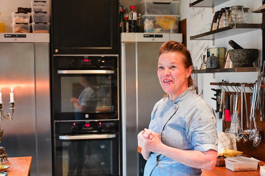 Sverige, Skåne, Kristianstad, Pias Kitchen