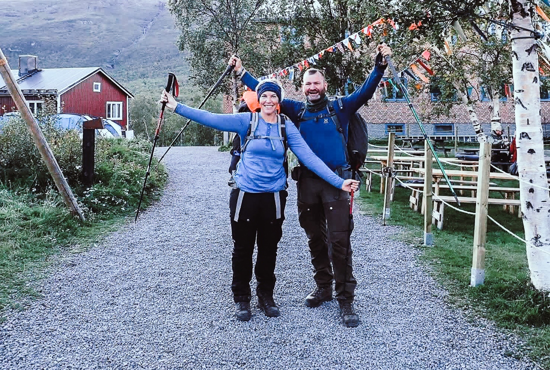 Sverige, vandra Fjällräven Classic