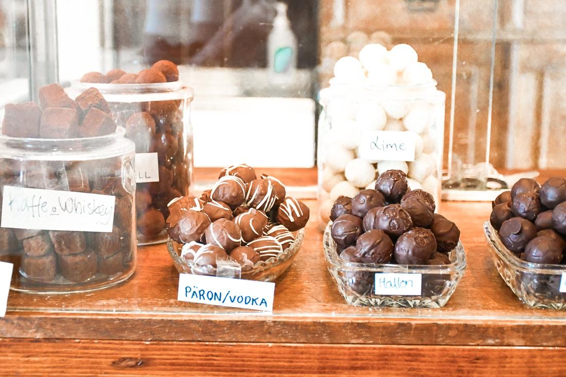 Sverige, Skåne, Kristianstad, Minas Choklad