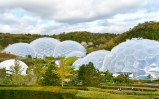 England, Cornwall, The Eden Project