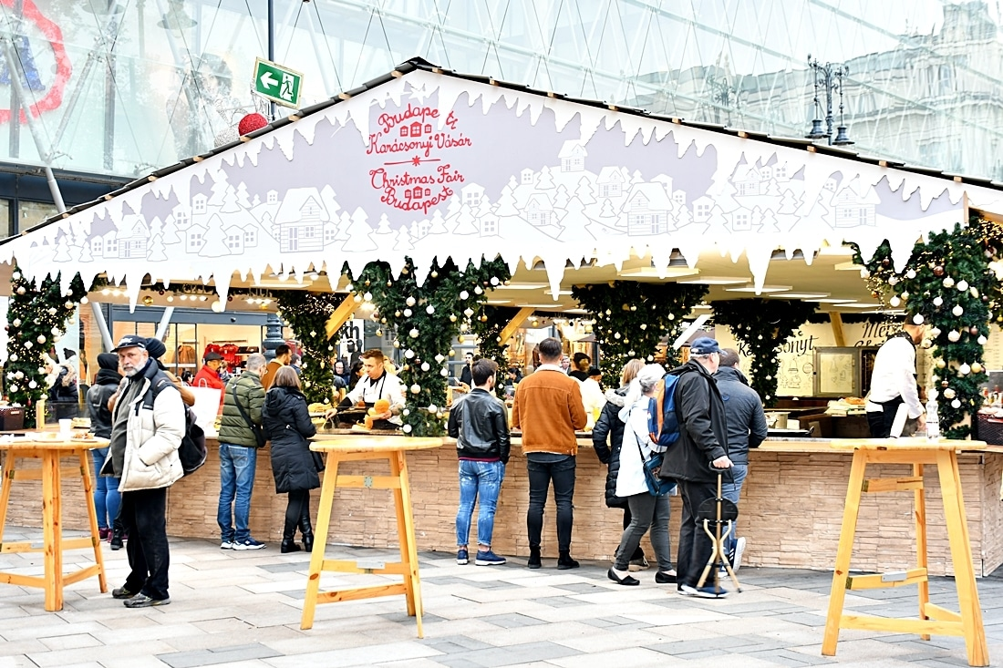 Ungern, Budapest, Julmarknader