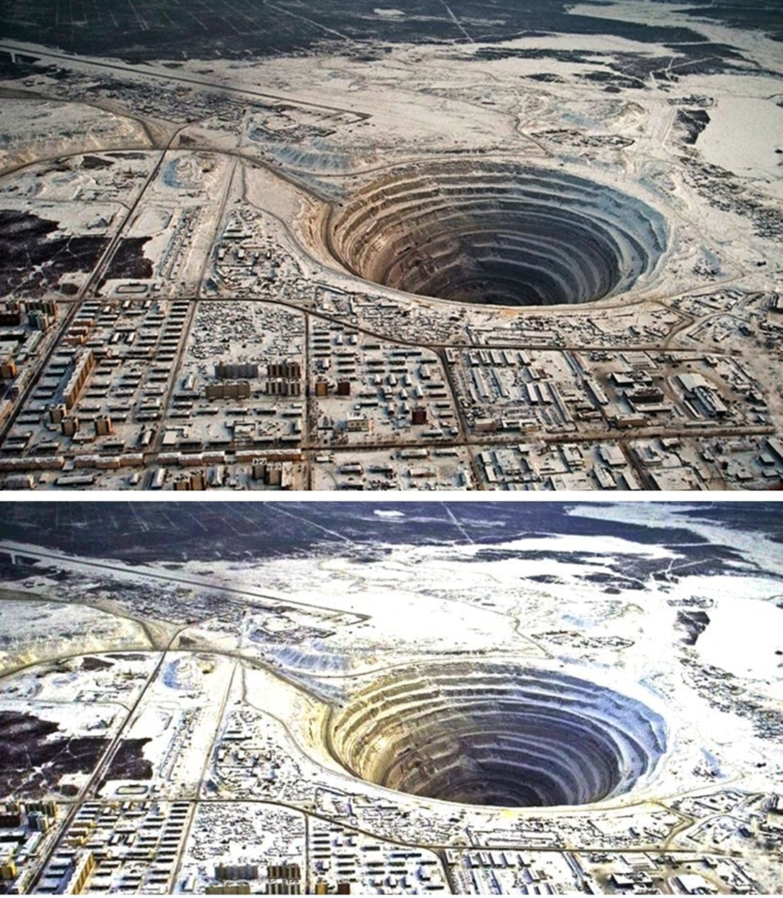 Diamantgruvan Mir, Mirny Diamond Mine
