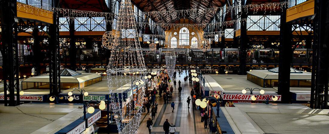 Ungern, Budapest, Great Market Hall, Saluhal