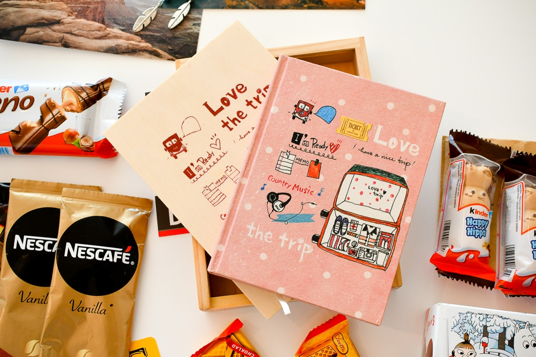 Resebloggare, paketbyte, Care Package (1)