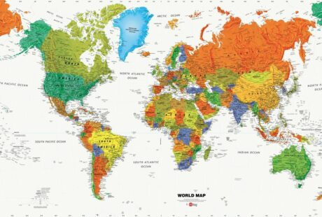 Världens 22 minst besökta länder