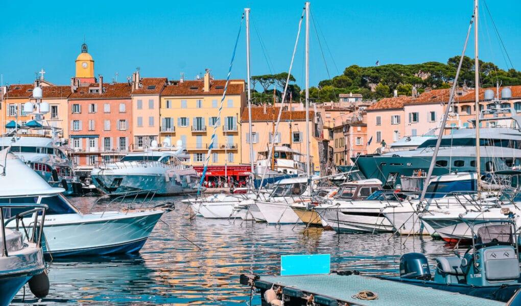 Franska Rivieran, Frankrike, Côte d'Azur, Saint Tropez, St Tropez