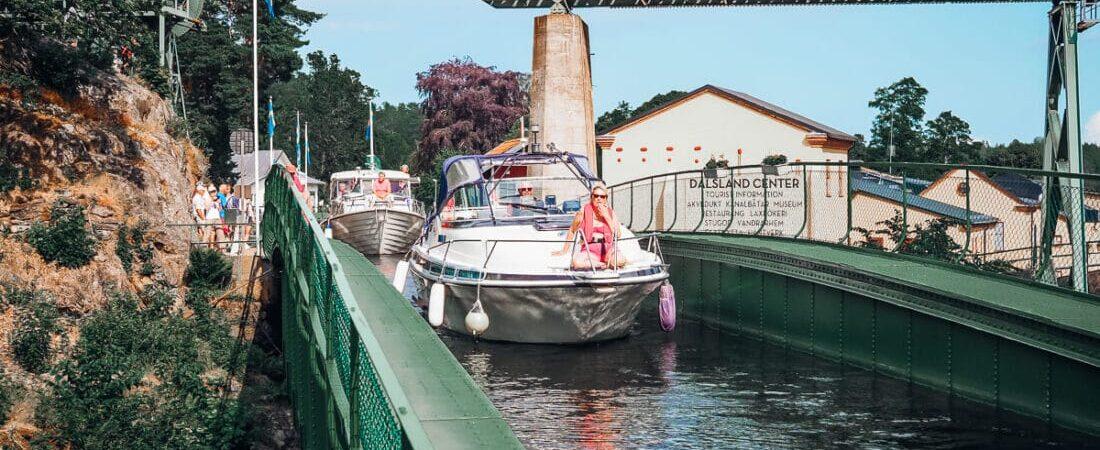 Sverige, Dalslands Kanal, Håverud