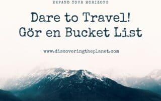 Bucketlist, bucket lista