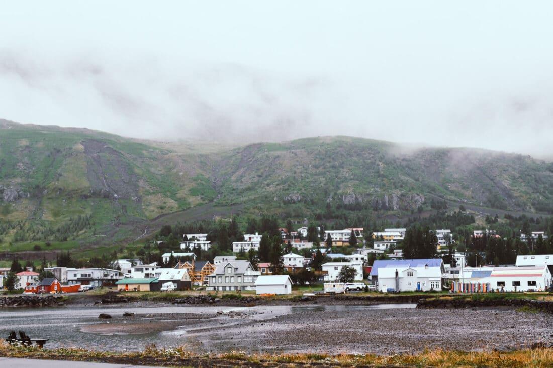 Island, Seydisfjordur, Seyðisfjörður