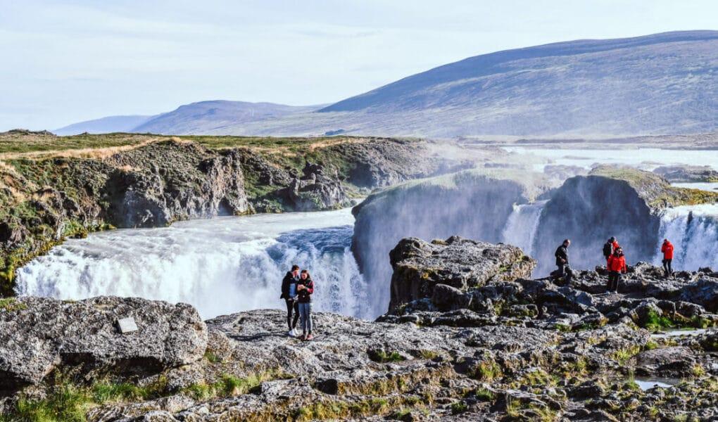 Island, Godafoss Vattenfall